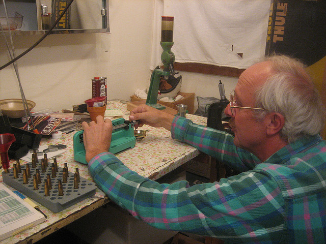 Making Bullets - Gun Rights - John Arwood